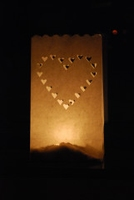 Candlebags Heart (groot)